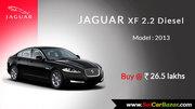 Buy Jaguar XF 2.2 Diesel,  2013 Model Now - Cars for sale,  used cars fo