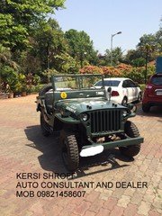 JEEP VINTAGE AND CLASSIC CARS BUY=SELL KERSI SHROFF AUTO DEALER